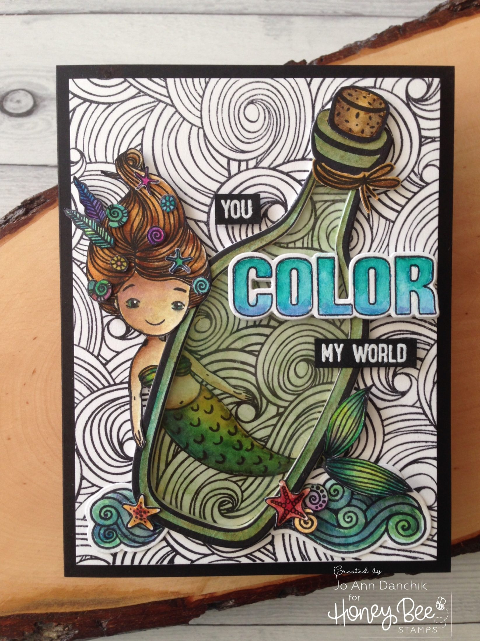 Saturday Stamping with Jo Ann: You Color My World